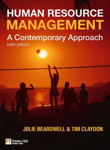 9780273722854: Human Resource Management: A Contemporary Approach