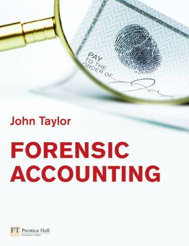 Forensic Accounting: Dr John Taylor