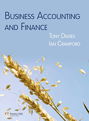 9780273723127: Business Accounting & Finance