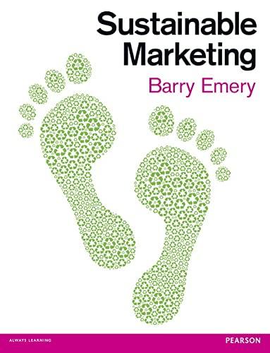 9780273723288: Sustainable Marketing