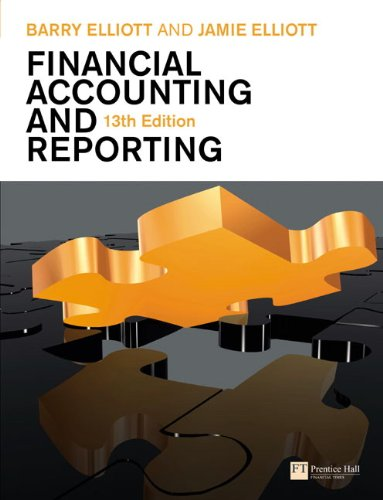 9780273723325: Financial Accounting and Reporting