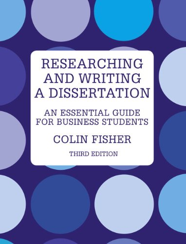 9780273723431: Researching and Writing a Dissertation: An Essential Guide for Business Students