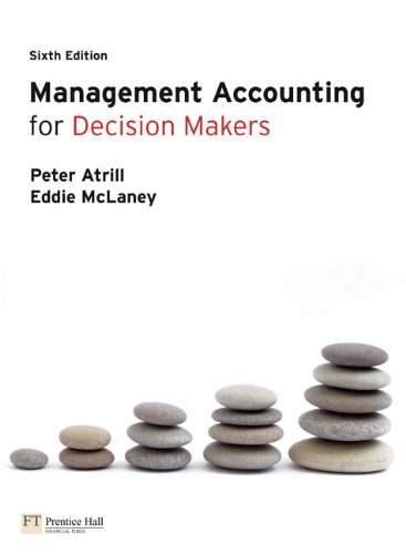 9780273723622: Management Accounting for Decision Makers