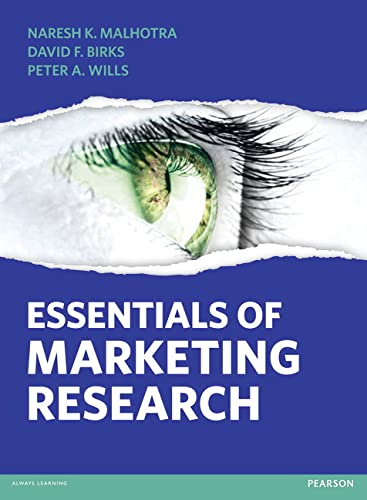 Essentials of Marketing Research: Wills, Peter A.,