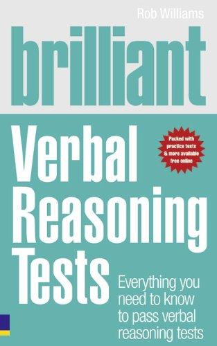9780273724537: Brilliant Verbal Reasoning Tests: Everything you need to know to pass verbal reasoning tests