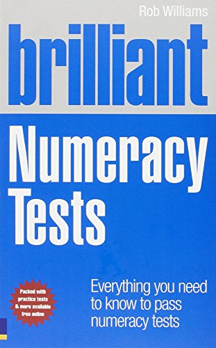 Brilliant Numeracy Tests (Brilliant Business): Williams, Rob