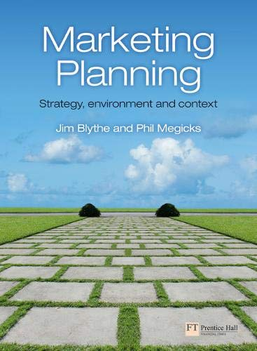 9780273724711: Marketing Planning: Strategy, Environment and Context