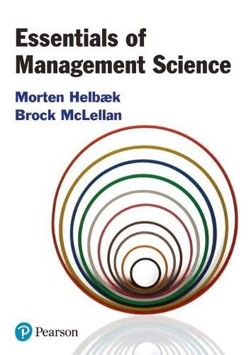 9780273725053: Essentials of Management Science