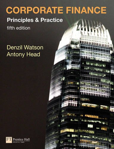 9780273725251: Corporate Finance Principles and Practice