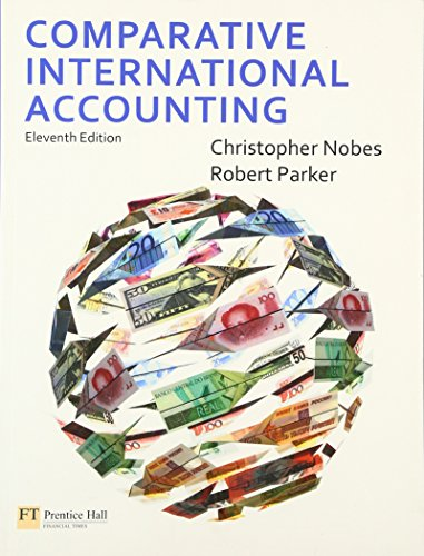 9780273725626: Comparative International Accounting (11th Edition)