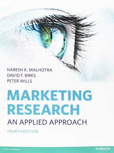9780273725855: Marketing Research: An Applied Approach