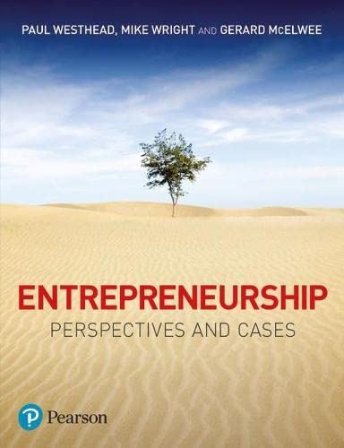 9780273726135: Entrepreneurship: Perspectives and Cases