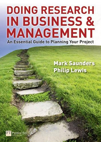 9780273726418: Doing Research in Business & Management: An Essential Guide to Planning Your Project