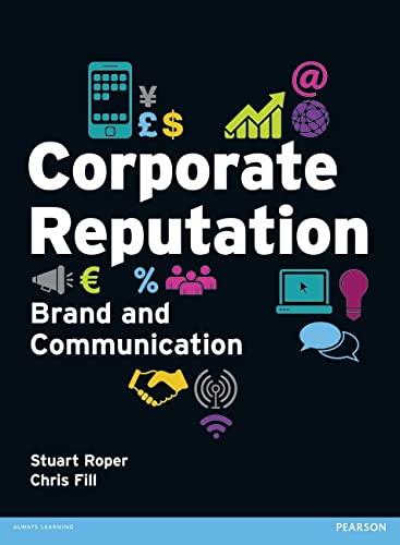 9780273727590: Corporate Reputation: Brand and Communication