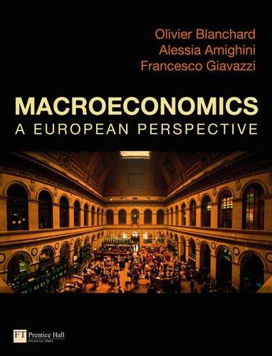 9780273728009: Macroeconomics a European Perspective