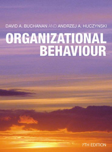 9780273728221: Organizational Behaviour