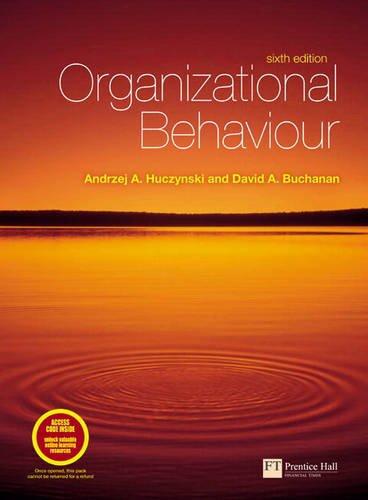 9780273728580: Organizational Behaviour Plus Companion Website Access Card