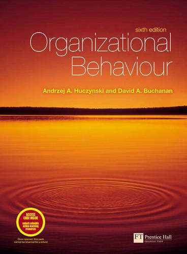 9780273728580: Organizational Behaviour Plus Companion Website Access Card