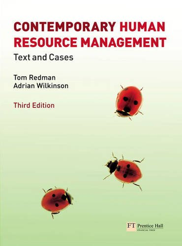 9780273728627: Contemporary Human Resource Management plus MyLab access code
