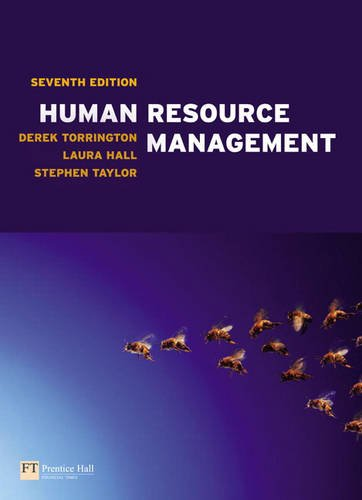 Human Resource Management plus MyManagementLab access code (9780273728641) by Derek Torrington; Stephen Taylor; Laura Hall; David Boddy