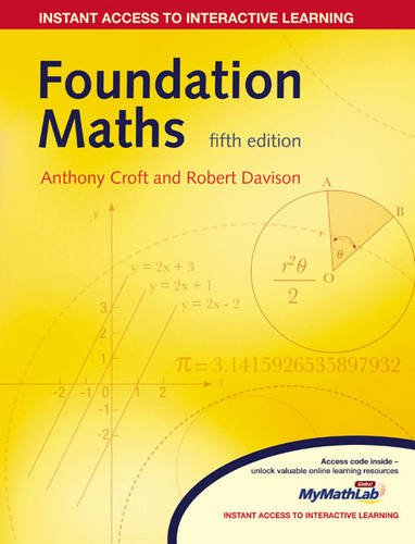 9780273729402: Foundation Maths