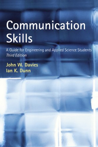 9780273729525: Communication Skills: A Guide for Engineering and Applied Science Students (3rd Edition)