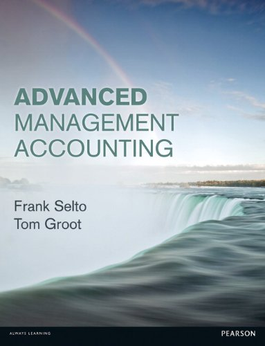 9780273730187: Advanced Management Accounting