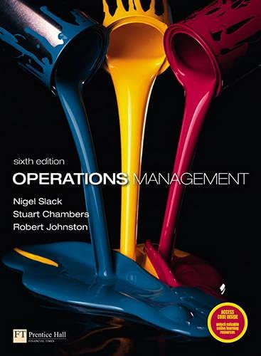 9780273730460: Operations Management