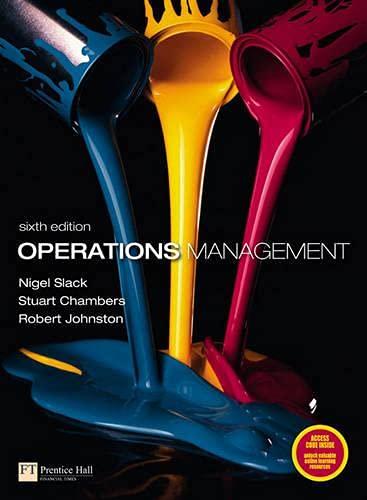 9780273730460: Operations Management