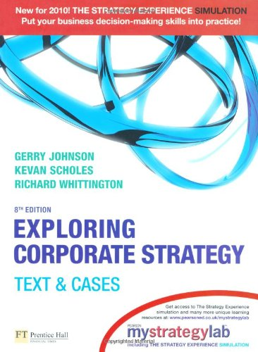 9780273731566: Exploring Corporate Strategy with MyStrategyLab: Text & Cases