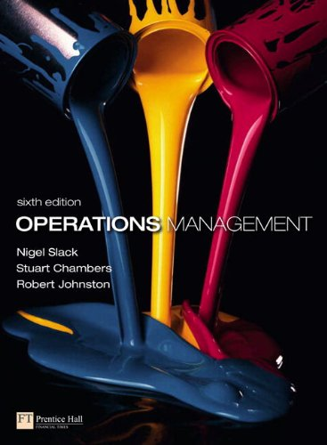 9780273731603: Operations Management with MyOMLab (6th Edition)
