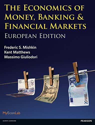 9780273731801: Economics of Money, Banking & Financial Markets: European Edition