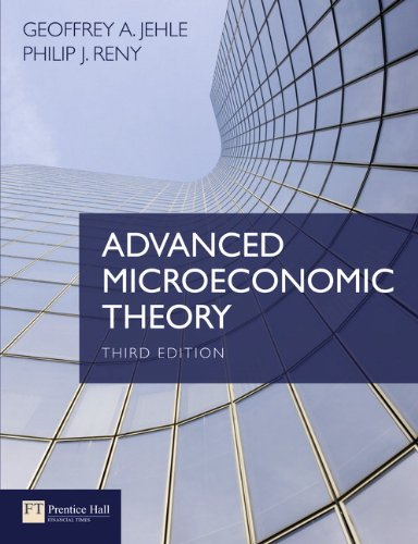 9780273731917: Advanced Microeconomic Theory (3rd Edition)