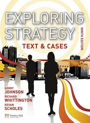 9780273732020: Exploring Strategy: Text & Cases (9th Edition)