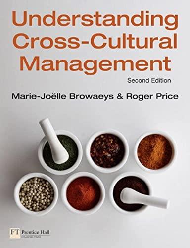 9780273732952: Understanding Cross-Cultural Management (2nd Edition)