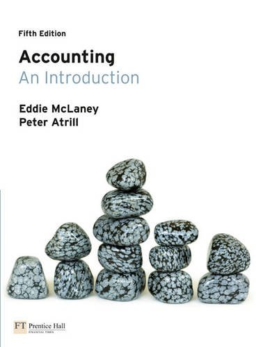 9780273733201: Accounting: An Introduction