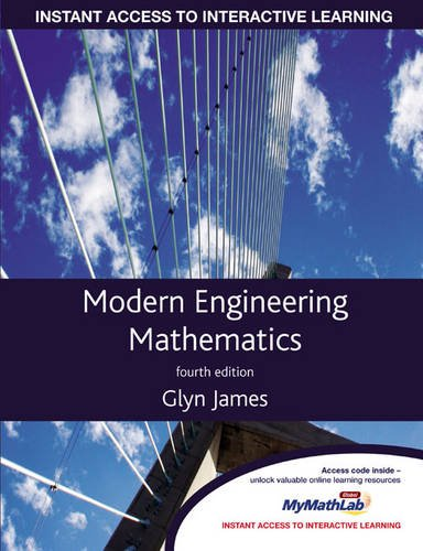 Modern Engineering Mathematics: AND MyMathLab: James, Prof Glyn