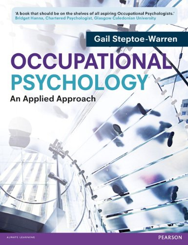 9780273734208: Occupational Psychology: An Applied Approach