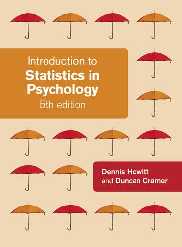 9780273734307: Introduction to Statistics in Psychology