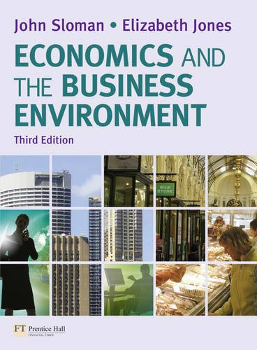 9780273734802: Economics and the Business Environment