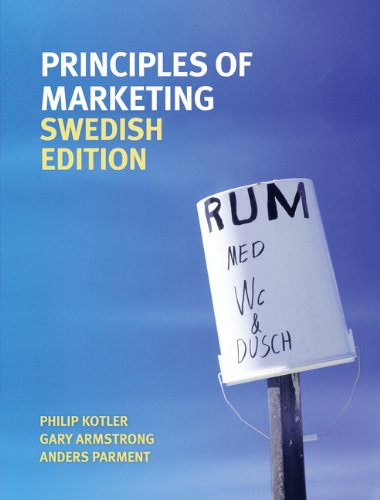 9780273735960: Principles of Marketing Swedish Edition