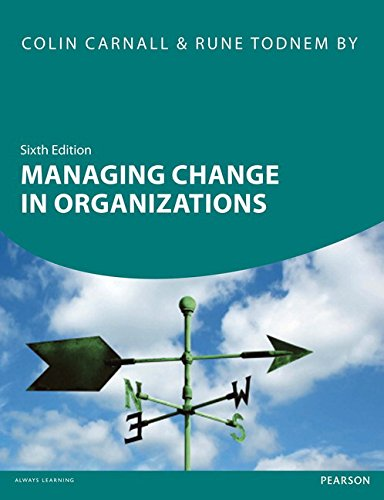 Managing Change in Organizations: Colin Carnall