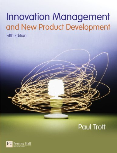 Innovation Management and New Product Development (5th: Trott, Paul