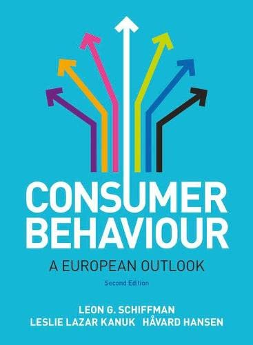 9780273736950: Consumer Behaviour: A European Outlook