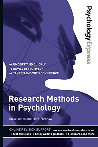 9780273737254: Psychology Express: Research Methods in Psychology (Undergraduate Revision Guide)