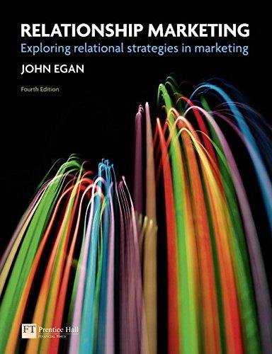 9780273737780: Relationship Marketing: Exploring Relational Strategies in Marketing