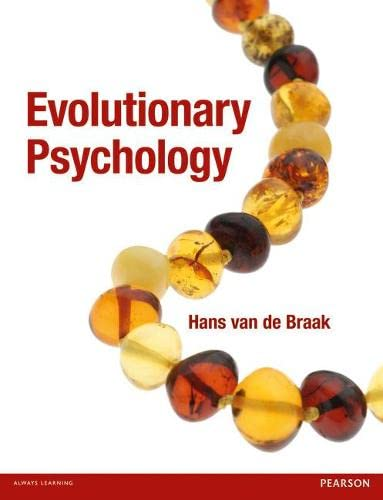 9780273737940: Evolutionary Psychology