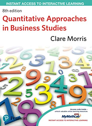 9780273738633: Quantitative Approaches in Business Studies