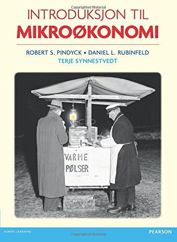 9780273738916: Introduksjon Til Mikrookonomi