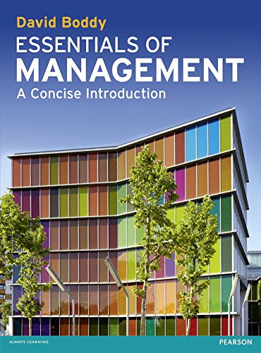 9780273739289: Essentials of Management: A Concise Introduction